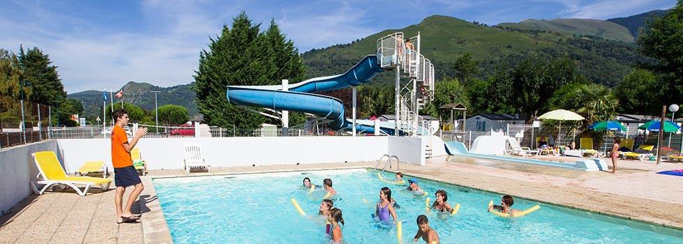 Camper toute l 39 ann e dans les hautes pyr n es mobil home Camping ouvert toute l annee avec piscine couverte